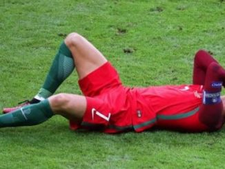 se leciona Cristaano Rolando en la copa europa 2016
