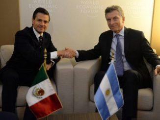 Mauricio Macri, Enrrique Peña Nieto,argentina,México,Derechos Humanos