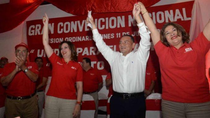 Convención,Arnoldo Alemán,Maximino Rodríguez,Martha McCoy,PLC,Alianza