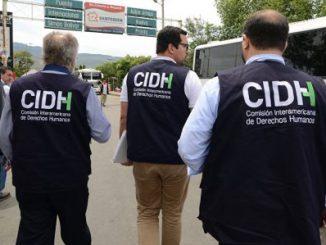 CIDH,OEA,Nicaragua