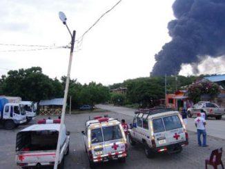 Explosión,Puerto Sandino,Petróleo