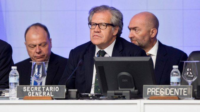 Leopoldo López,Luis Almagro, Nicolás Maduro