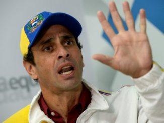 Capriles,estado de emergencia alimentaria,