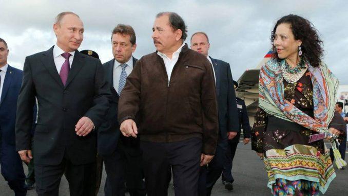 Nicaragua,Rusia,Washington