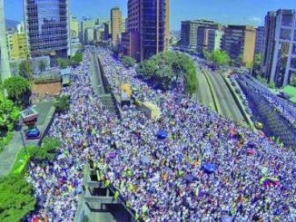 protesta,Caracas