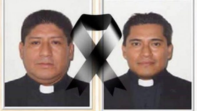 dos sacerdotes asesinados,México,