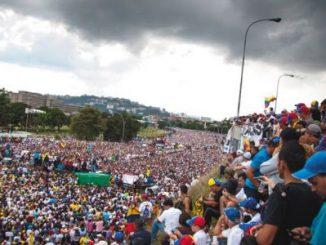 oposición,huelga,Venezuela,