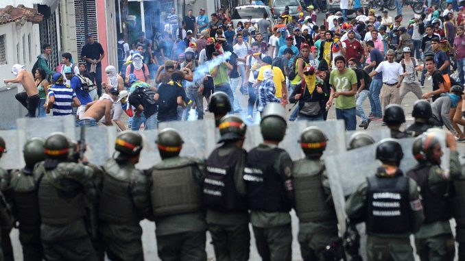 Nicolás Maduro,protesta