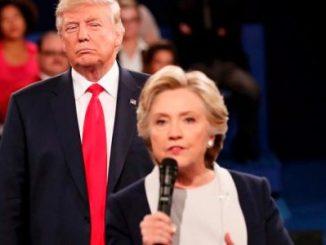 Último Debate,Clinton,Trump