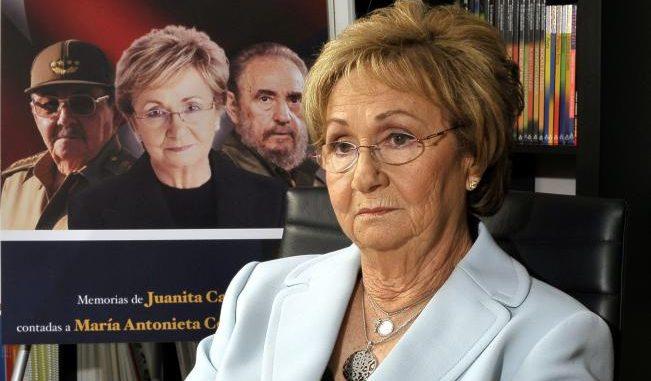 Juanita Castro,Fidel Castro,exiliada,funeral,