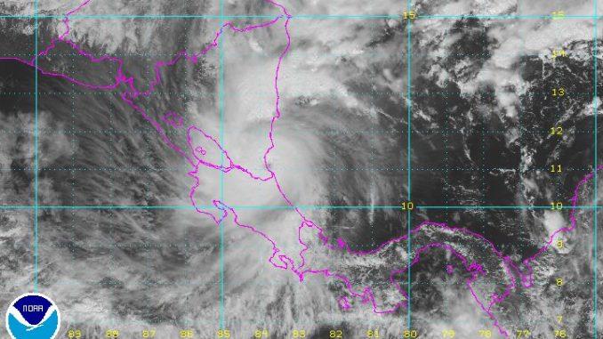 Huracán Otto,categoría 2,Nicaragua,El Caribe,