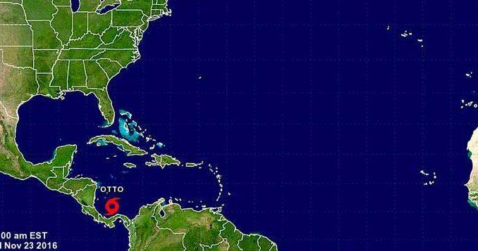 Otto,degrada,tormenta,El Caribe,