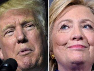 Donald Trump,Hillary Clinton,aventaja,