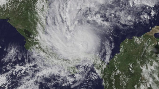 Otto,huracán,Nicaragua,