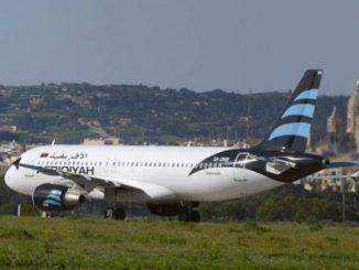 secuestro,avión,Libia,