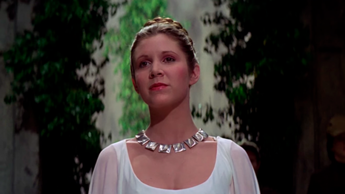 Carrie Fisher,Princesa Leia,