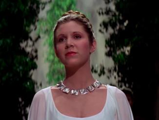 Carrie Fisher,Princesa Leia,