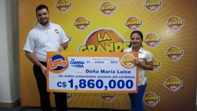 Loto Presenta Ganador De La Grande Radio Corporacion