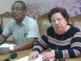 Alcalde de Prinzapolka, Eklam James, demandando Solución a la violencia en su municipio en el CENDIH.