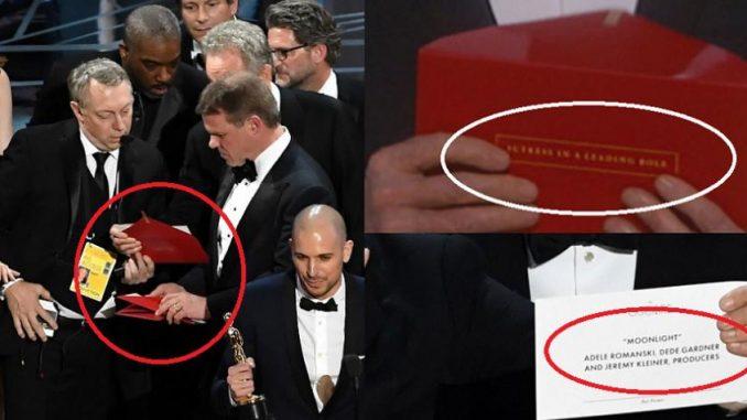error,premios Oscar