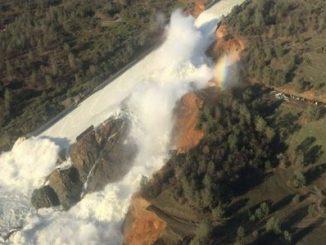 represa,daños,California,evacuaciones,