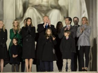 Servicio Secreto,familia Trump,