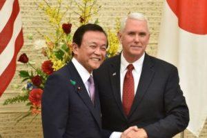 El vicepresidente Pence de gira por Asia con el conflicto norcoreano dentro de su agenda.