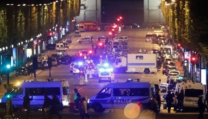 ataque terrorista,París,Campos Elíseos,