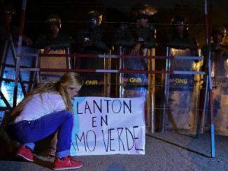 plantón,Nicolás Maduro,oposición,