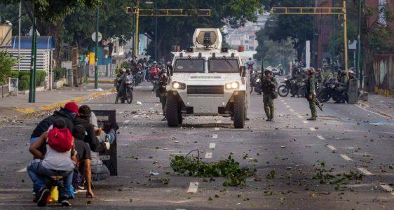 Nueva protesta-Venezuela