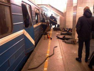 San Petersburgo,explosión,muertos,metro,