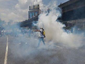 Dos muertos,represión,Venezuela,