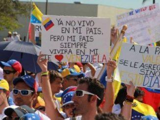 Protesta mundial,represión,Venezuela,democracia,