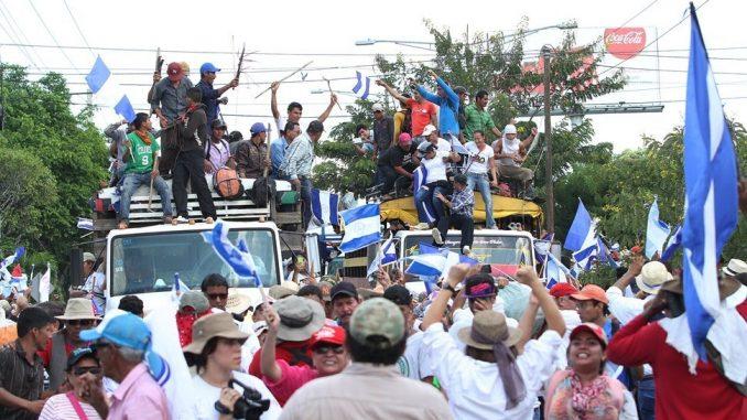 esé a que se anunció desde hace dos meses la marcha anticanal , Rosario Murillo invito a feria ambiental