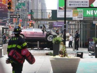 Times Square,accidente,muerto,Nueva York