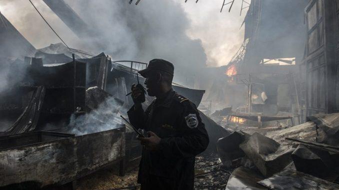 Incendio del mercado Oriental consumió 208 tramos
