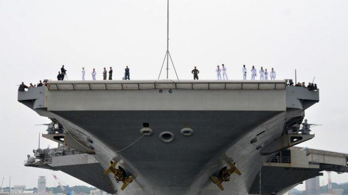 portaaviones,Estados Unidos,Península de Corea,