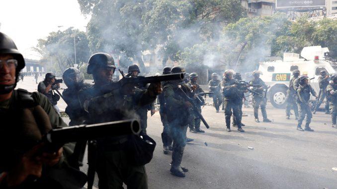 muertos,Venezuela,militares detenidos,