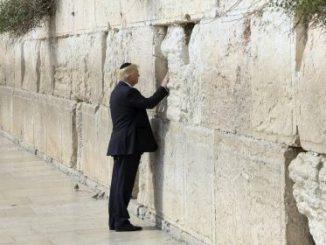 Donald Trump,Muro de los Lamentos,Israel,