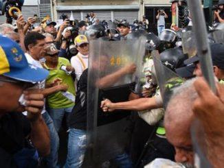 gas pimienta,ancianos,protesta,Venezuela,