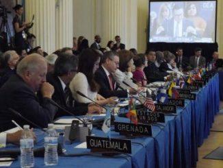 OEA,cancilleres,Venezuela,