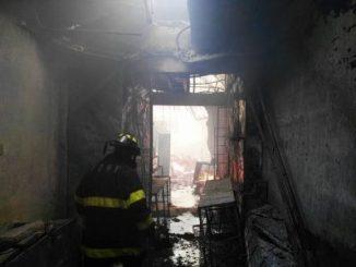 Incendio,mercado Oriental,Managua,