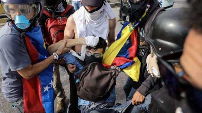 asesinado,joven,Venezuela,protesta,