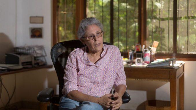 La Comandante Dora María Téllez del MRS