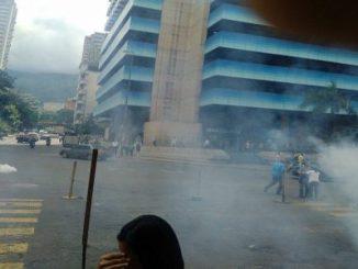 Caracas,movilización,represión,