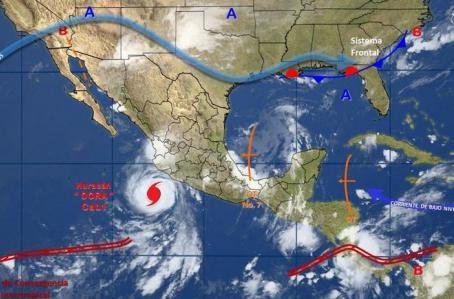 Dora,huracán,México,