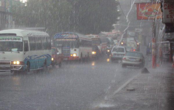 Lluvias,El Salvador,muertos
