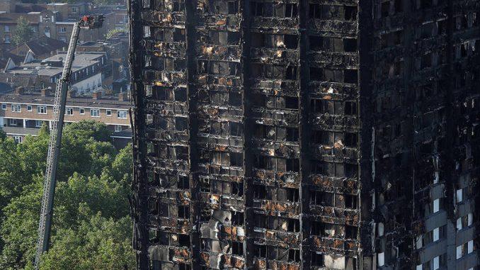incendio en torre,Londres