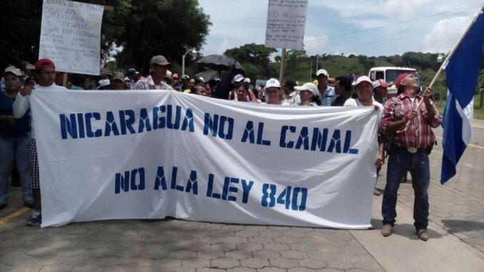 campesinos,marcha,ley 840,Isla de Ometepe,