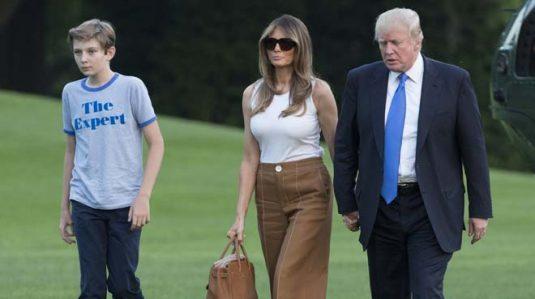 Melania Trump,Casa Blanca,